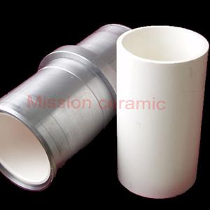 Mud pump ceramic cylinder liner